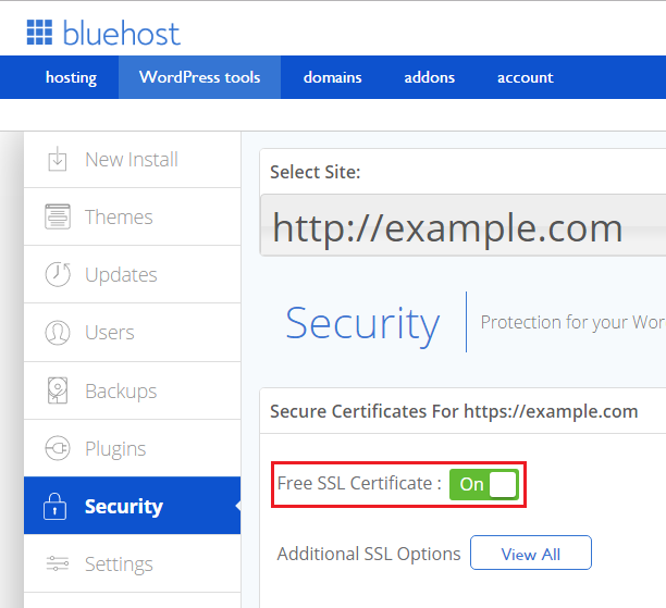 How To Install And Download Your Free Bluehost Ssl Certificate